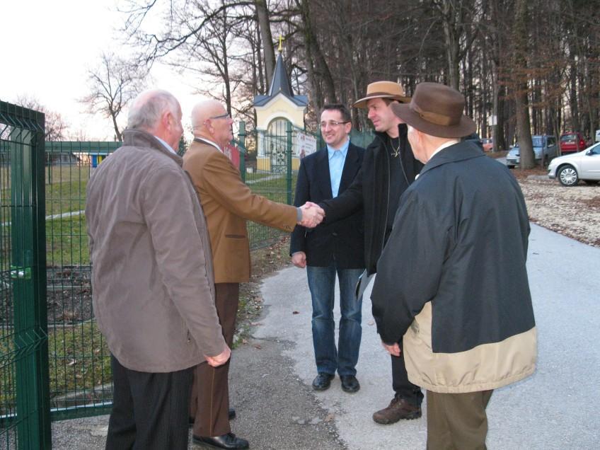 Šmarske čebelarje obiskal predsednik ČZS Boštjan Noč